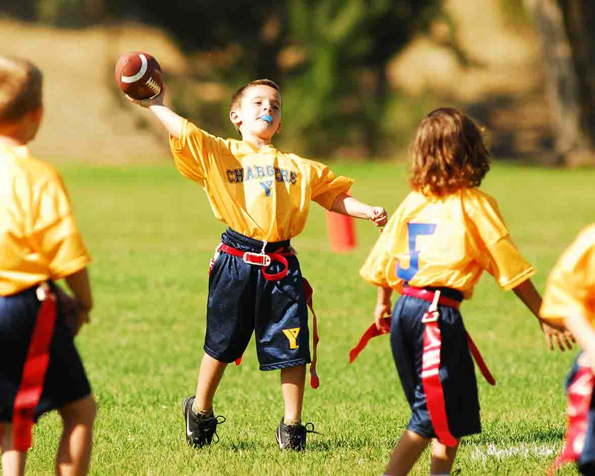 Triunfo YMCA flag football