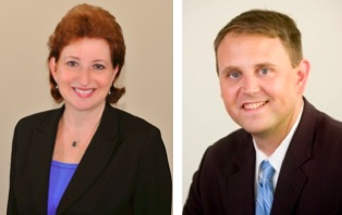 Emily Sanders and Owen Malcolm, managing directors of United Capital Atlanta