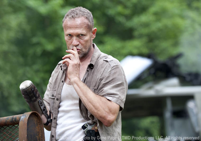 Michael Rooker as Merle Dixon (AMC)