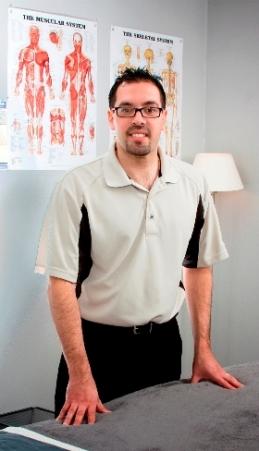 Daniel Suarez, Licensed Medical Massage Therapist, Southbury, Conn.