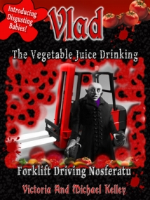 Vlad Vegetable Drinking Nosferatu