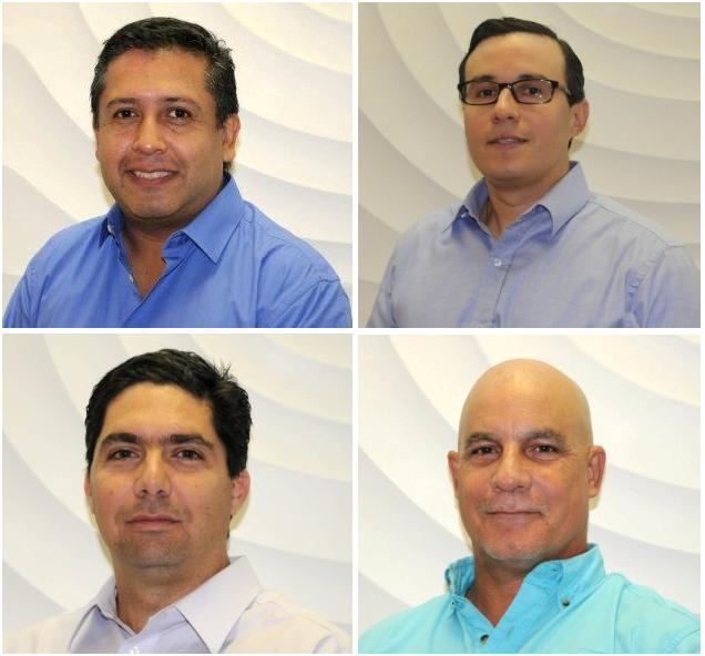 Top: Angulo, Vanegas; Bottom: Riquezes, Añez