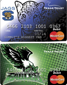 Texas Trust CU Spirit Debit Cards bring in $110,000 for Texas high schools