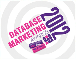 Postcode Anywhere an Official Sponsor of Database Marketing Awards 2012