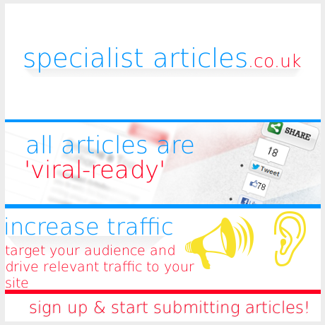 New UK Article Directory, Specialist UK Articles. Become an Author Today!