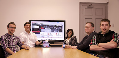 The Paligap team responsible for the Bridgend website project.