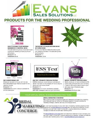 Wedding Professional Product Page