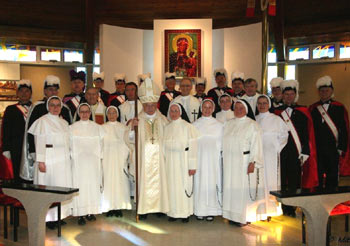 Dominican Sisters celebrate their 150th anniversary recently.