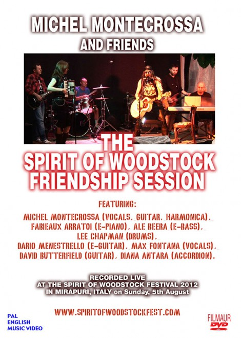 DVD-Cover: 'The Spirit of Woodstock Friendship Session'