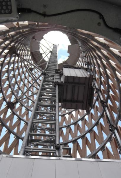 Alimak Hek Lift access solution to London's Danes Yard Landmark