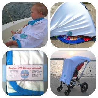Sunsnapz® multi-purpose sun protection blanket. One blanket, dozens of uses.