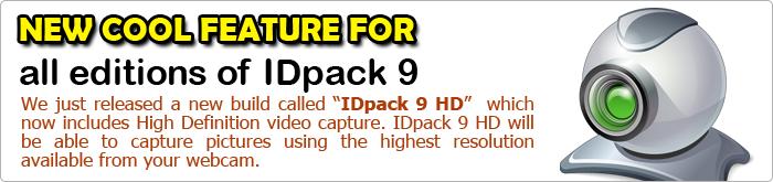 IDpack 9 HD Banner