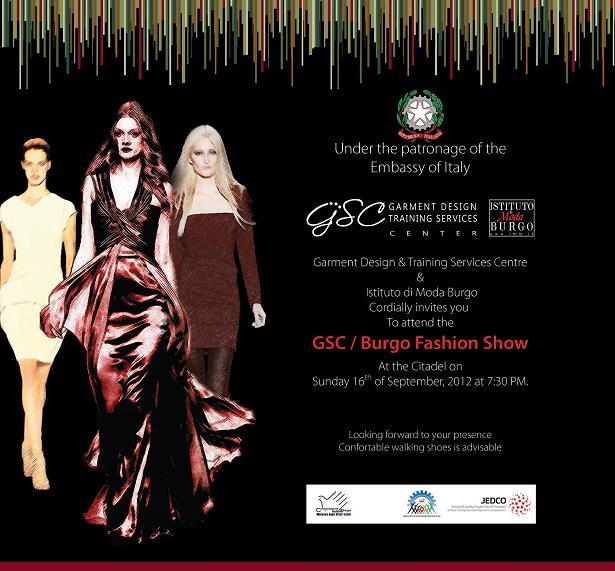 Gsc istituto di moda burgo fashion show istituto di for Burgo istituto