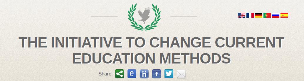 Initiative Website header