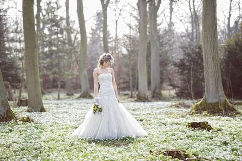 Hodsock Priory Snowdrop Weddings