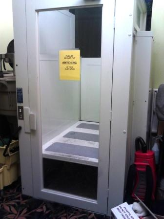 Legends Golf & Country Club donated this lift to Goodwill