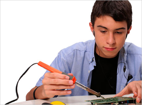 Learn How To Solder Electronics Circuits