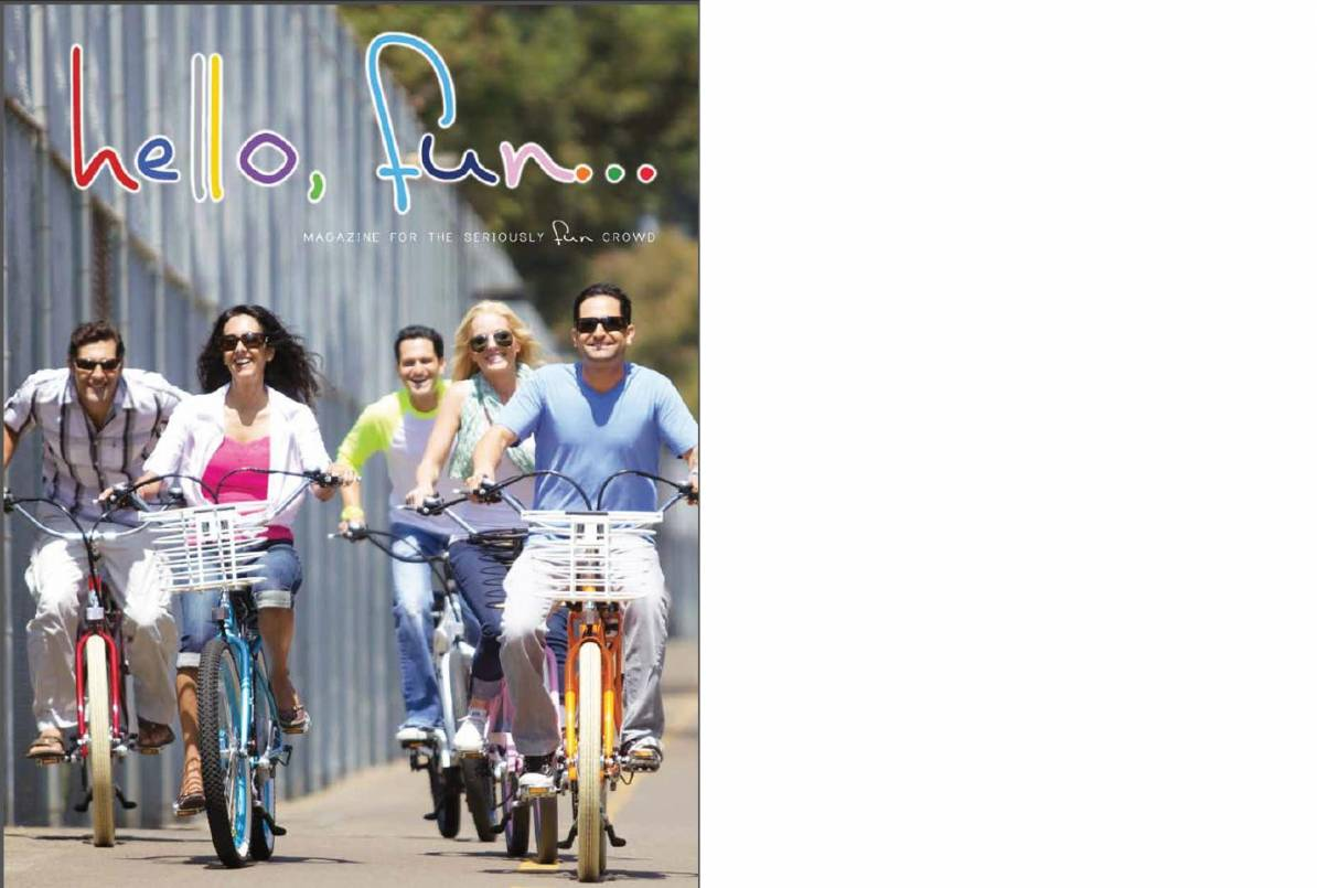 Pedego's hello, fun magazine will be available at participating dealers.