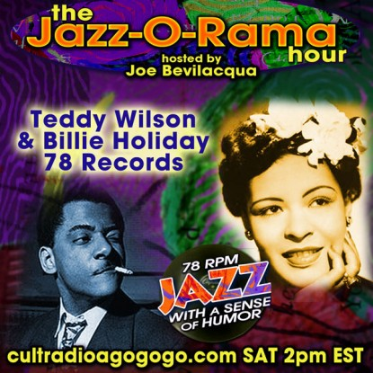 Joe Bev presents: Teddy Wilson & Billie Holiday 78 Records - Today 2 pm on CRAGG