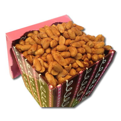 Honey Roasted Peanuts Angle BasketBox