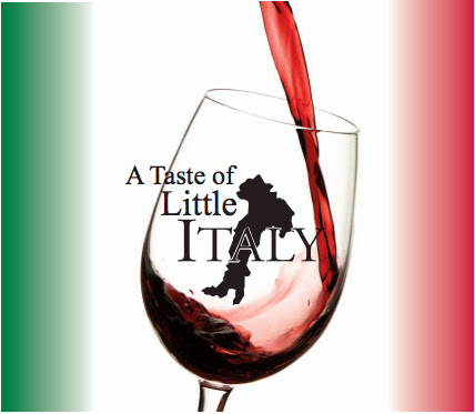 The Taste of Little Italy, September 23, 3:00-7:00pm