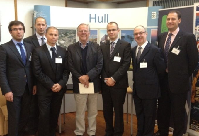 E20 Estonian visitors with Lord Haskins