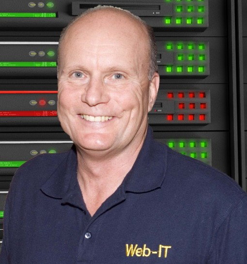 Anthony Kruge, creator of Web-IT, LLC & Heritage Computer Specialists in Conn.