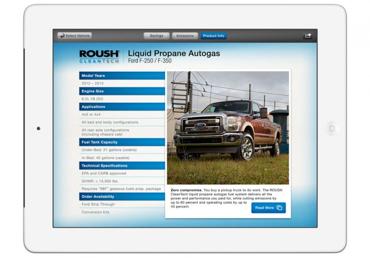 ROUSH iPad App