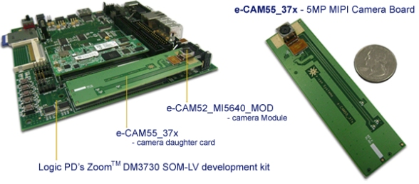 5MP-MIPI-Camera-Board-DM37x-OMAP3