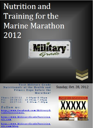 Marine Marathon Training Guide