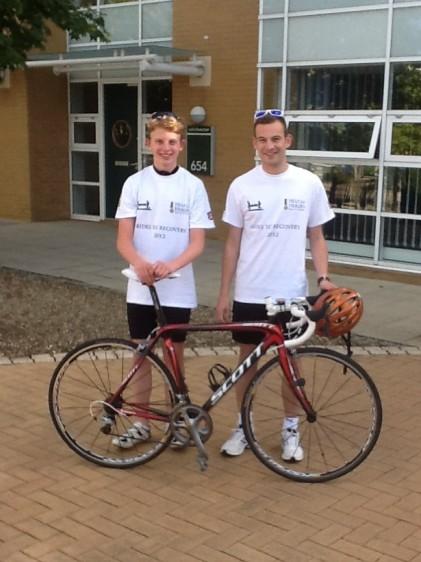 Alex Hales and Bradley Redgewell