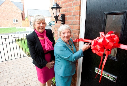 Mayor opens show home