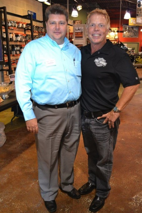 Trent Howe (March of Dimes) and Scott Fischer (Scott Fisher Enterprises)