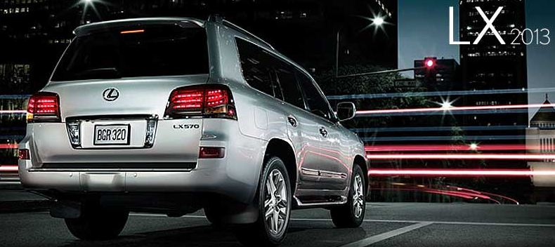 LX 570 Coming Soon to Lexus of Melbourne