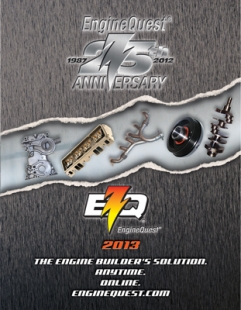 2013 EngineQuest (EQ) catalog cover