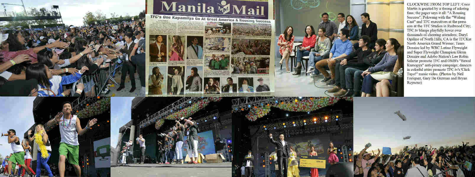 One Kapamilya Go 2012 at California's Great America: A Rousing Success