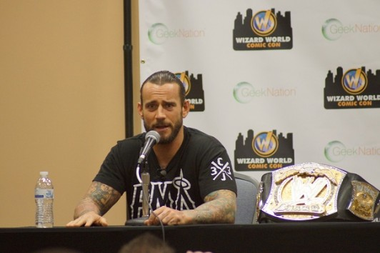 CM Punk photo by Tomlin Campbell