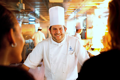 Justin Galea, executive head chef at Turnberry Luxury Collection Resort.
