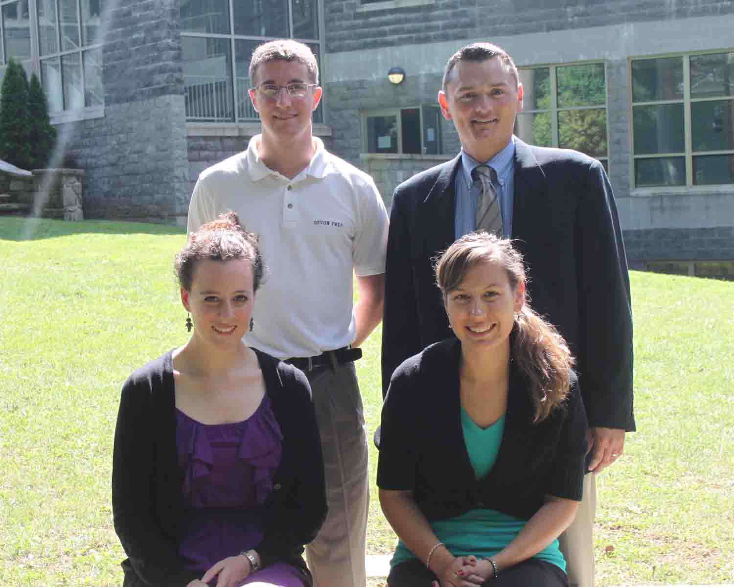 Devon Prep welcomed four new faculty members.