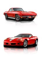 One person will win both of these Corvettes