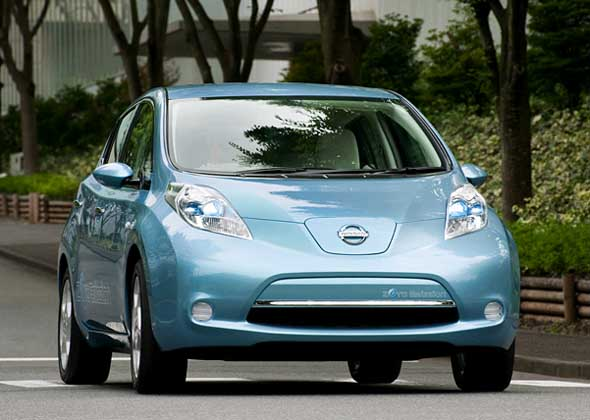 Nissan Leaf available at Athens Nissan