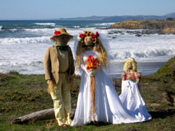 Scarecrows take over Cambria