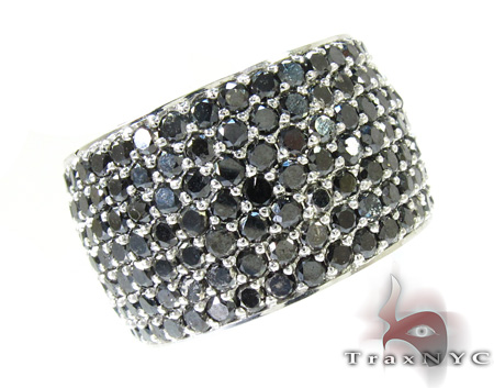 7-Row-Fully-Black-Diamond-Ring-26746-Mens-Diamond-