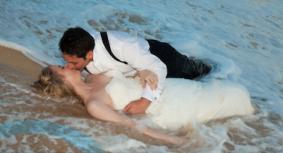 Trash the Dress by Wedding Photographer Bill Stockwell of Napa CA