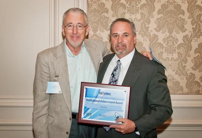 eduKan's Dr. Mark Sarver Receives the NUTN 2012 Institutional Achievement Award