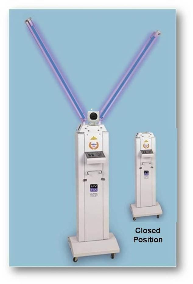 MRSA-UV's Total Room UV Sanitizer
