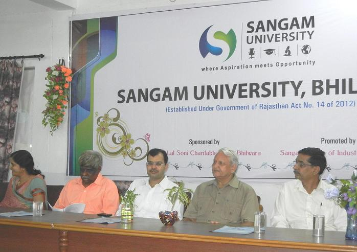 Sangam University Bhilwara Rajasthan Celebrates International Ozone Day