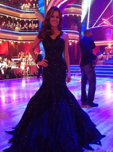 Brooke Burke in EMILcouture