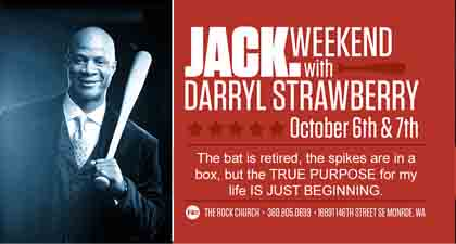 Darryl Strawberry Speaks at TRC JACK Weekend