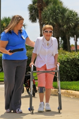 The L300 Foot Drop System helps Patricia Coughlin walk again.